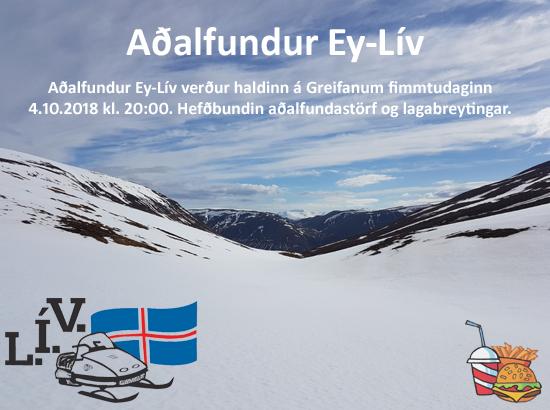 Aðalfundur EY-LÍV